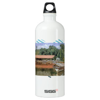 William Chase- Boat House, Prospect Park SIGG Traveller 1.0L Water Bottle