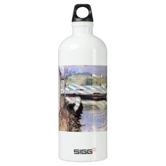William Chase- Fish Sheds and Schooner, Gloucester SIGG Traveller 1.0L Water Bottle