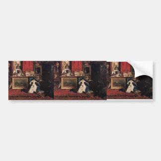 William Chase- Interior of the Artist's Studio Bumper Sticker