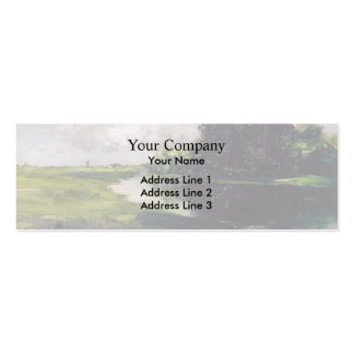 William Chase- Long Island Landscape after Rain Pack Of Skinny Business Cards