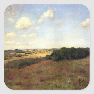William Chase:Sunlight and Shadow,Shinnecock Hills Sticker