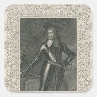 William Craven, 1st Earl of Craven Square Sticker