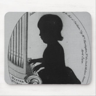 William Crotch Playing the Organ Mouse Pad