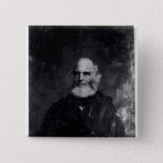William Cullen Bryant  c.1851-60 15 Cm Square Badge
