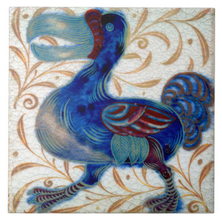 William De Morgan The Dodo Ceramics Tile