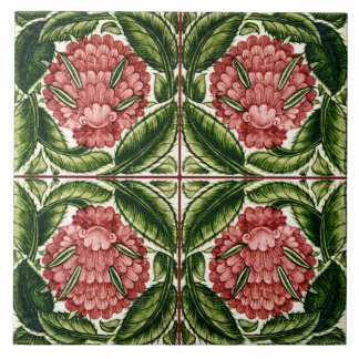 William De Morgan Victorian Ceramics Tile
