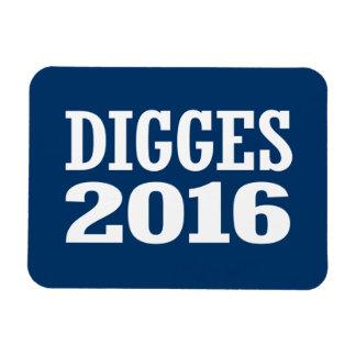 William Digges 2016 Rectangular Photo Magnet