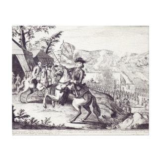 William Duke of Cumberland and the Rebel Canvas Print