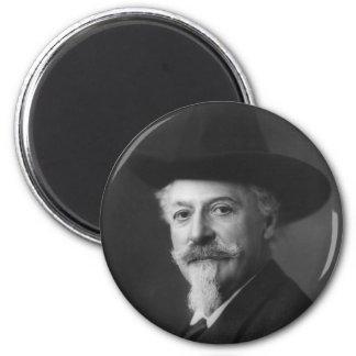 William F. Cody a.k.a. Buffalo Bill Portrait Fridge Magnets