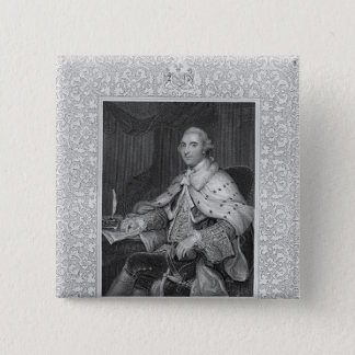 William Fitz-Maurice Petty 15 Cm Square Badge