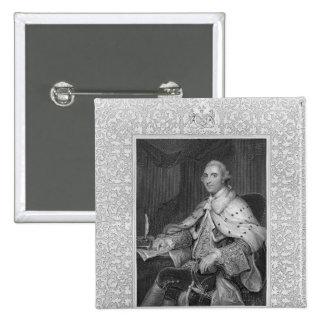 William Fitz-Maurice Petty 15 Cm Square Badge