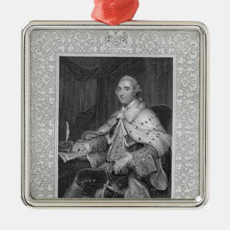 William Fitz-Maurice Petty Christmas Ornament