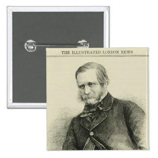 William Fox, Esq. 15 Cm Square Badge