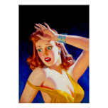 William Fulton Soare: Menace Pulp Cover Poster