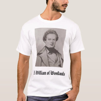 William Gilmore Simms, St. William of Woodlands T-Shirt