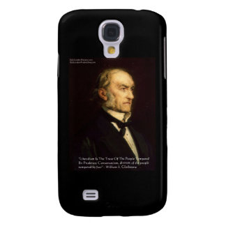 """William Gladstone """"Liberals & Conservative"""" Gifts Samsung Galaxy S4 Cover"""