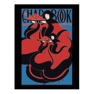 William H Bradley Thanksgiving No The Chap Book Postcard
