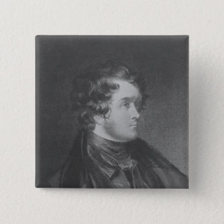 William Harrison Ainsworth 15 Cm Square Badge