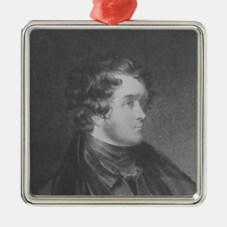William Harrison Ainsworth Christmas Ornament