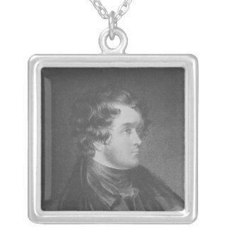 William Harrison Ainsworth Square Pendant Necklace