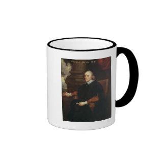 William Harvey  Royal physician, 17th century Ringer Coffee Mug