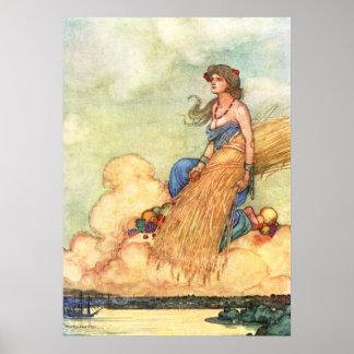 William Heath Robinson - Sydney Poster