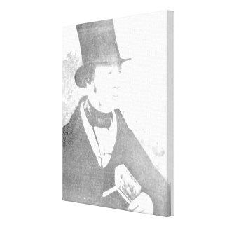 William Henry Fox Talbot  1844 Canvas Print
