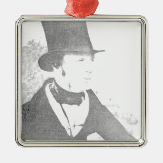 William Henry Fox Talbot  1844 Christmas Ornament