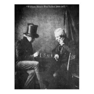 William Henry Fox Talbot Postcard