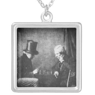William Henry Fox Talbot Silver Plated Necklace