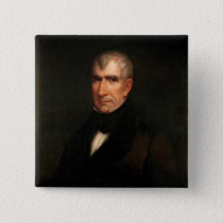 William Henry Harrison 15 Cm Square Badge