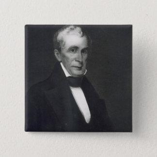 William Henry Harrison, 9th President of the Unite 15 Cm Square Badge