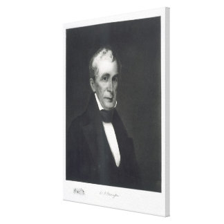 William Henry Harrison, 9th President of the Unite Canvas Print