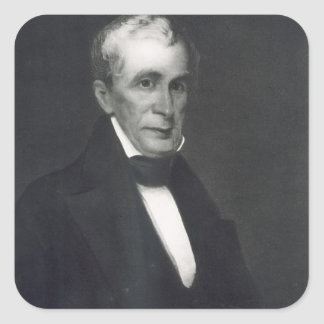 William Henry Harrison, 9th President of the Unite Square Sticker