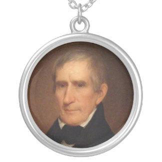 William Henry Harrison Round Pendant Necklace