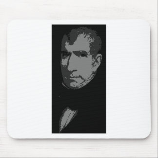 William Henry Harrison silhouette Mouse Pad