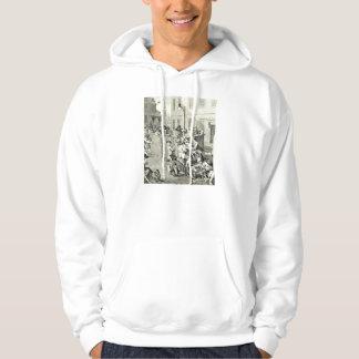 William Hogarth Art Hooded Sweatshirts