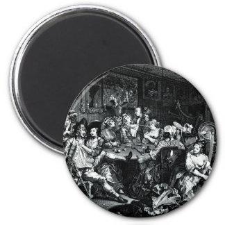 William Hogarth Art Refrigerator Magnets