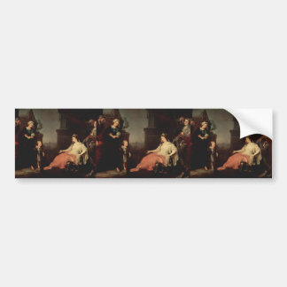 William Hogarth-Moses Before Pharaoh's Daughter Bumper Stickers