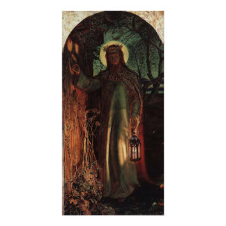 William Holman Hunt Light of the World Poster