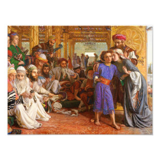 William Holman Hunt - The Finding of the Saviour Photograph