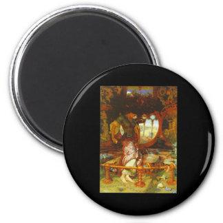 William Holman Hunt The Lady of Shalott Magnets