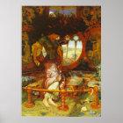 William Holman Hunt The Lady of Shalott Poster