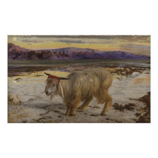 William Holman Hunt The Scapegoat Poster