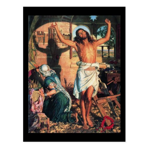William Holman Hunt The Shadow of Death Post Cards