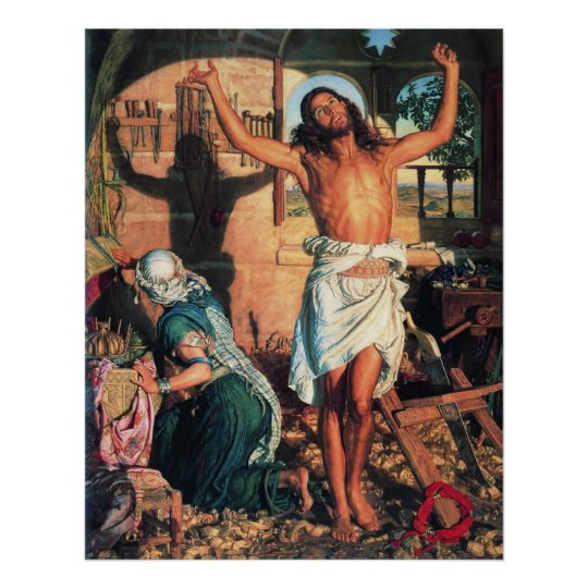 William Holman Hunt The Shadow of Death Poster