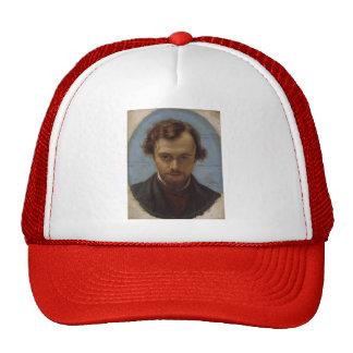 William Hunt- Portrait of Dante Gabriel Rossetti Trucker Hat