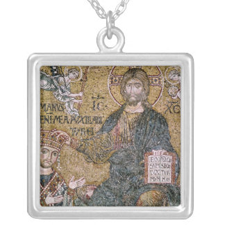 William II King of Sicily Silver Plated Necklace