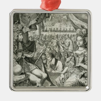 William III (1650-1702) and Mary II (1662-94) King Christmas Ornament