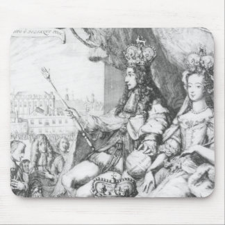 William III  and Mary II Mouse Pad